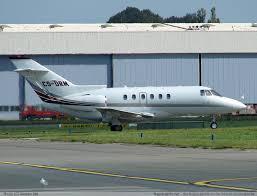 hawker 800 jet