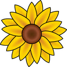 clip art sunflowers