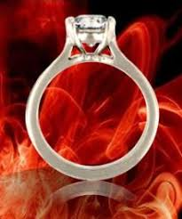 cathedral set ring