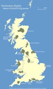 map of national parks in england and wales