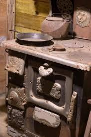 antique cook stove