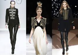 military inspired fashion