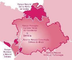 Espacios naturales protegidos de la provincia de Sevilla