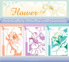 flower website template