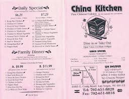 kitchen menu