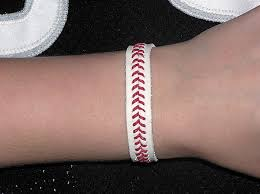 baseball seam bracelets