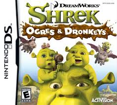 shrek ogres and dronkeys