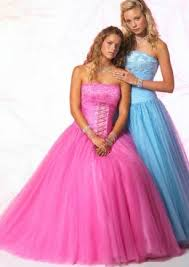 lilac prom gowns