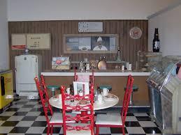 50s diner kitchen