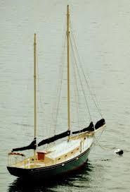 steel sail boat