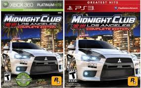 midnight club los angeles remix xbox 360