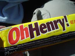 o henry chocolate bars