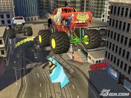 monster jam racing