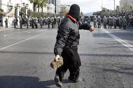 greek riots photos