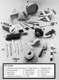 archaeologist tools