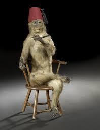 monkey fez
