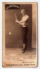 old baseball card