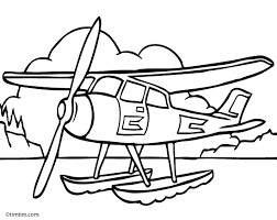 drawing of a plane