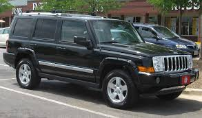 jeep commander sport