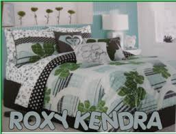 blue roxy bedding