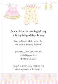baby shower invitation samples