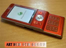 orange slide phone