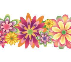 flower wall borders