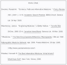 mla format works cited website