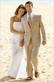 groom beach wedding clothes