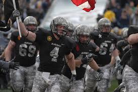 army football helmets