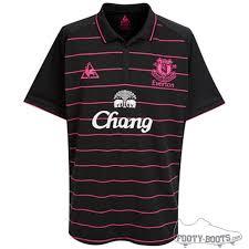 everton away kit 2009