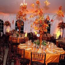 fall theme wedding decorations