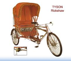 rickshaw bicycles