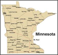 minnesota map usa