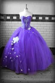 purple wedding gowns