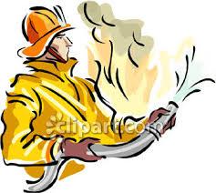 clip art firefighter