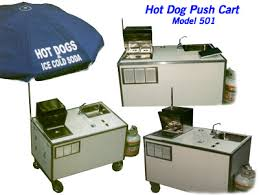 hot dog push carts
