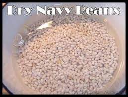 dried navy beans