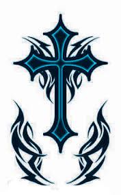 cross tattoos tribal