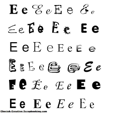 alphabets scrapbooking