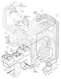 electric golf cart wiring diagram