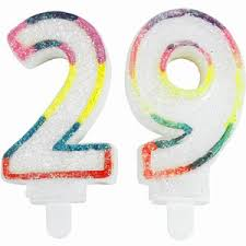 birthday candles numbers