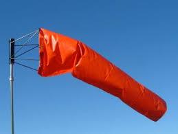 orange windsocks