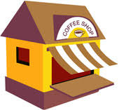 coffee house clip art