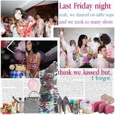 last Friday night, we went