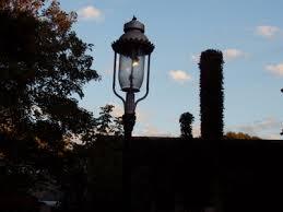 gas street lights