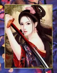 pretty asian lady