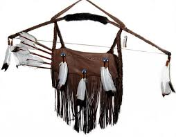 native american bow and arrows