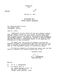 official letter example