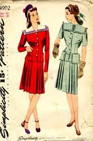 clothes 1940